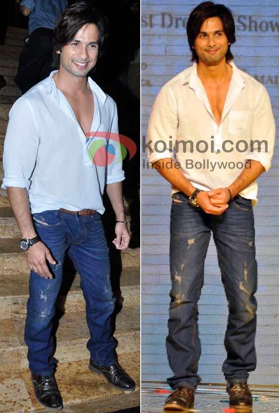 Shahid Kapoor Best/Worst Dressed