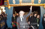 Steven Spielberg At The Adventures of Tintin Premiere