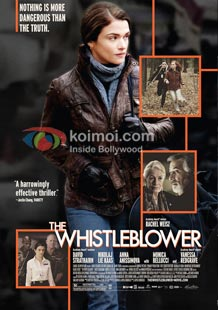 The Whistleblower Review (The Whistleblower Movie Poster)