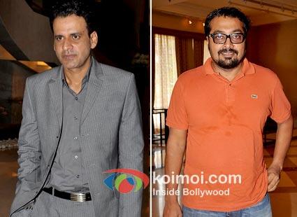 Manoj Bajpayee and Anurag Kashyap