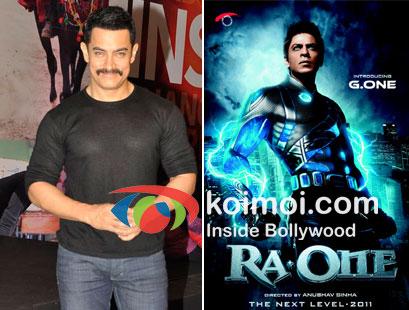 Aamir Khan, Shah Rukh Khan In Ra.One