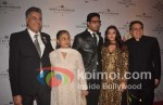 Abu Jani, Jaya Bachchan, Abhishek Bachchan, Aishwarya Rai Bachchan, Sandeep Khosla At Abu Jani, Sandeep Khosla's 25 Years Bash
