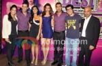 Akshay Kumar, Chitrangda Singh, Deepika Padukone, John Abraham, Rohit Dhawan At Desi Boyz Music Launch