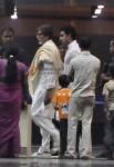 Amitabh Bachchan, Abhishek Bachchan Visits Aishwarya Rai At Hospital