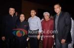 Anu Malik, Rajiv Shukla, Javed Akhtar, Ravi Shastri At Rajiv Shukla's Party