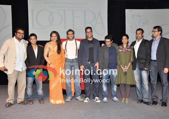 Anurag Kashyap, Vikas Bahl, Sonakshi Sinha, Ranveer Singh, Vikramaditya Motwane, Madhu Mantena