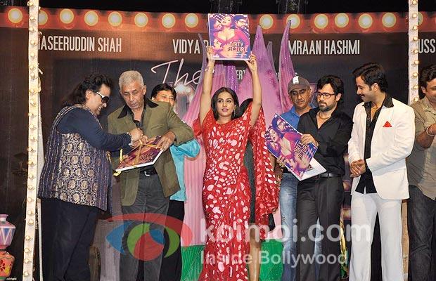 Bappi Lahiri, Naseeruddin Shah, Vidya Balan, Milan Luthria, Emraan Hashmi & Tusshar Kapoor