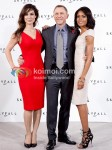 Berenice Marlohe, Daniel Craig, Naomie Harris At Skyfall Announcement