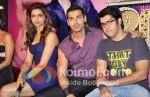 Deepika Padukone, John Abraham, Rohit Dhawan At Desi Boyz Music Launch