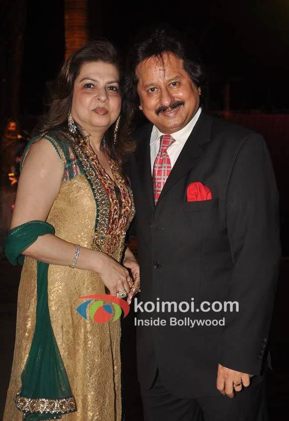 Farida Udhas, Pankaj Udhas At Priyanka Soorma's Wedding