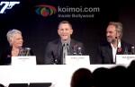 Judi Dench, Daniel Craig, Sam Mendes At Skyfall Announcement