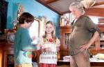 Kris Kristofferson, Nathan Gamble, Cozi Zuehlsdorff (Dolphin Tale Movie Stills)