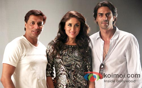 Madhur Bhandarkar, Kareena Kapoor and Arjun Rampal Have started shooting for Heroine