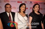 Mukesh Ambani, Simi Garewal, Nita Ambani At Hello! Awards 2011