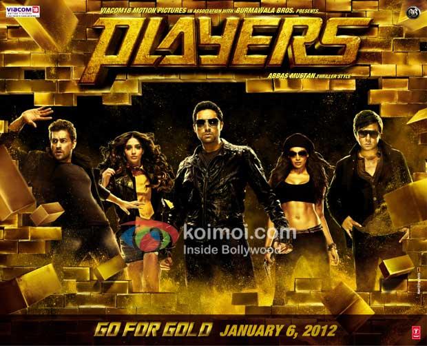 Neil Nitin Mukesh, Sonam Kapoor, Abhishek Bachchan, Bipasha Basu, Bobby Deol (Players First Look Poster)