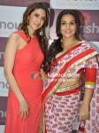Pooja Makhija, Vidya Balan At A Health Product Launch