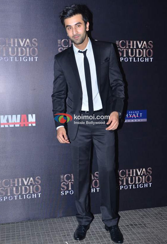 Ranbir Kapoor At Chivas Kwan Bash