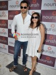 Rohit Roy, Manasi Joshi Roy At A Health Product Launch