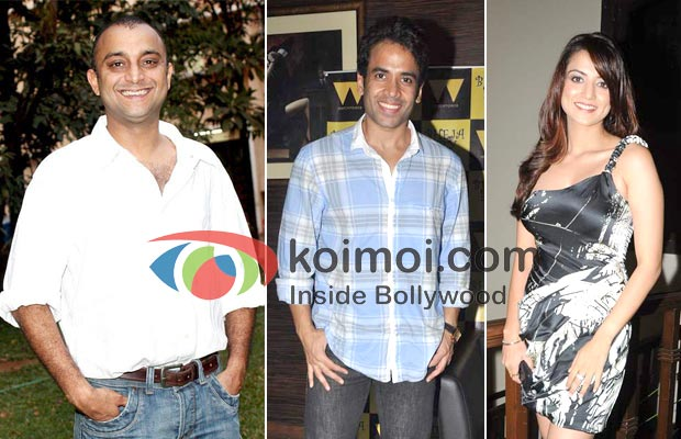 Samir Karnik, Tusshar Kapoor, Kulraj Randhawa In Chaar Din Ki Chandni