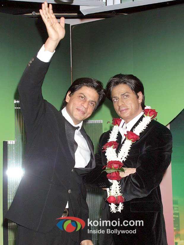 Shah Rukh's Wax Statue