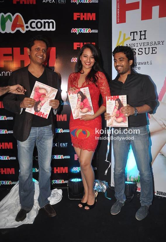 Sonakshi Sinha At FHM Anniversary Celebrations | Koimoi