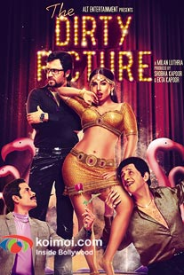 Tusshar Kapoor ,Emraan Hashmi, Vidya Balan, Naseeruddin Shah in The Dirty Picture