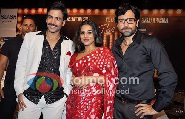 Tusshar Kapoor, Vidya Balan, Emraan Hashmi