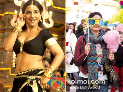 Vidya Balan in The Dirty Picture and Kareena Kapoor in Ek Main Aur Ekk Tu