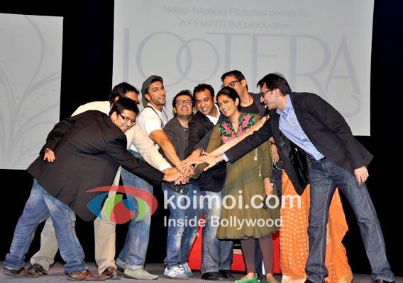 Vikas Bahl, Anurag Kashyap, Sonakshi Sinha, Ranveer Singh Vikramaditya Motwane, Madhu Mantena