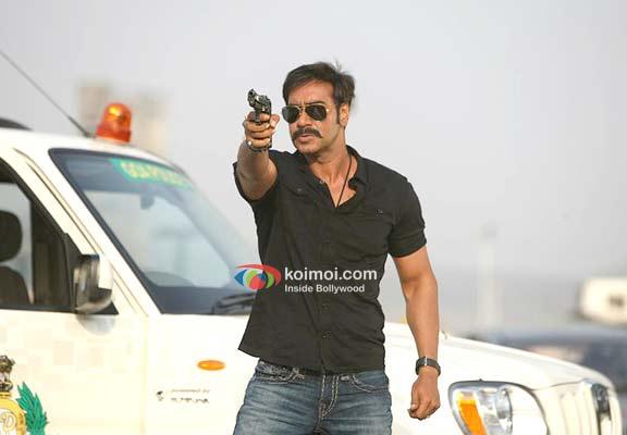 Ajay Devgan in Singham