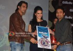 Arjun Rampal, Neha Dhupia At Gillette Press Meet