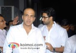 Ashutosh Gowariker, Abhishek Bachchan At Dev Anand's Prayer Meet