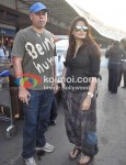 Atul Agnihotri, Alvira Khan Agnihotri At Leave For New Year's