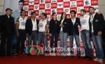 Bobby Beol, Sonu Sood, Sunil Shetty, Sohail Khan, Genelia D'souza Ritesh Deshmukh ,Aashish Chaudhary At CCL 2 Curtain Raiser