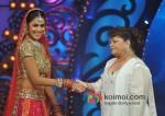 Genelia D'Souza On Sets Of Saroj Khan's Show