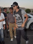 Hrithik Roshan At Leave For New Year's