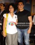 Kiran Rao, Aamir Khan At Dhobi Ghat DVD Launch