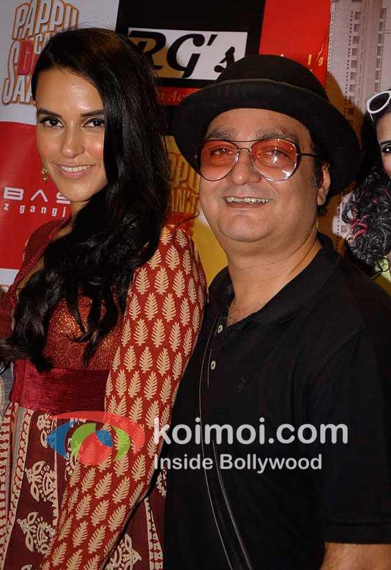 Neha Dhupia, Vinayak Pathak Promot Pappu Can't Dance Saala