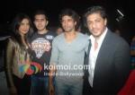 Priyanka Chopra, Ritesh Sidhwani, Farhan Akhtar, Shah Rukh Khan At Don 2 Special Screening