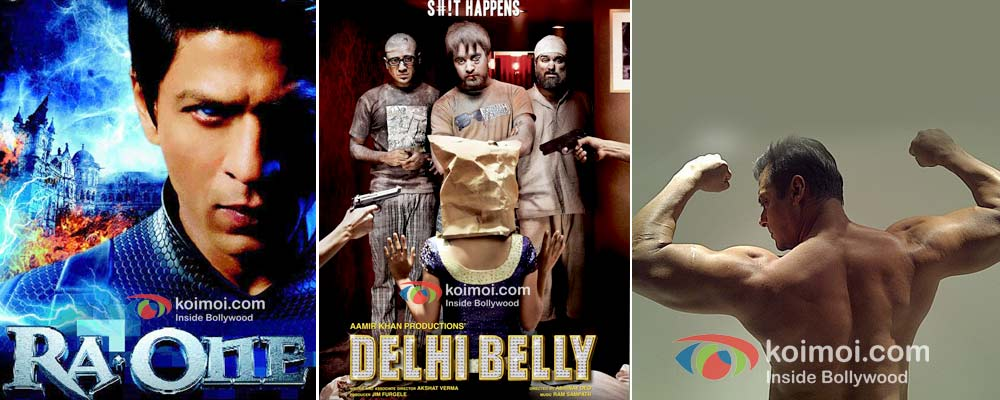 Ra.One, Delhi Belly, Salman Khan's bodybuilding pic