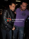 Salman Khan At Leave For New Year's