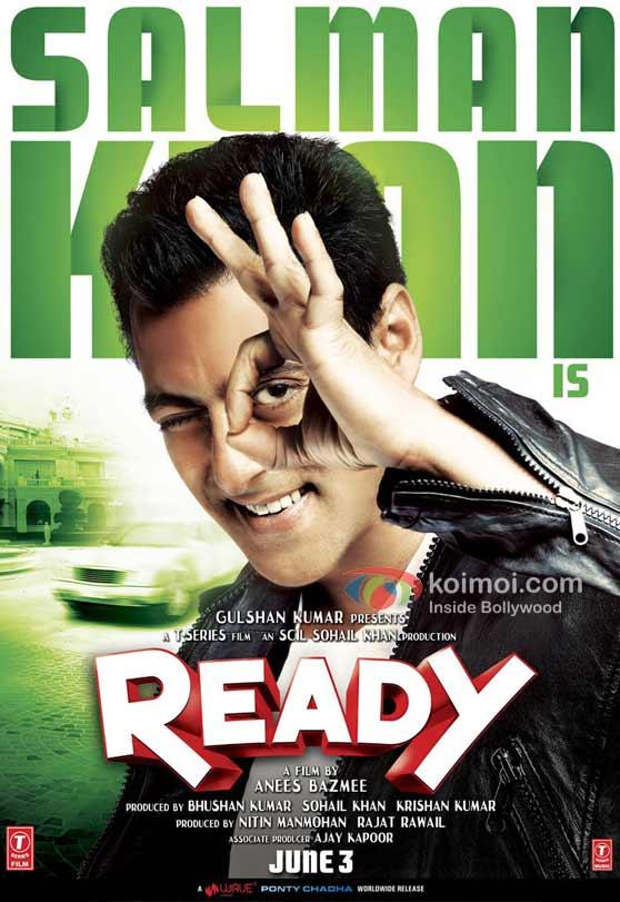Salman Khan Ready Movie Poster