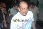 Sanjay Dutt At The Airport