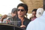 Shah Rukh Khan At Leave For Dubai