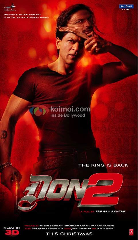 Shah Rukh Khan Don 2 Movie Poster