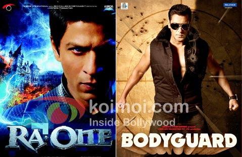 Ra.One Poster, Bodyguard Poster