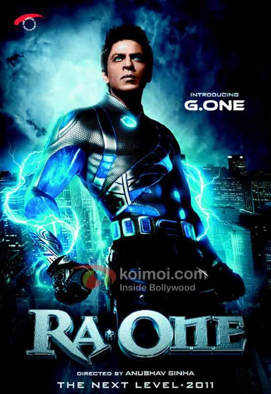 Shah Rukh Khan Ra.One poster