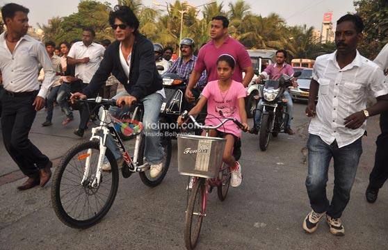 Shah Rukh Khan & Suhana