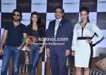 Shekhar Ravjiani, Jacqueline Fernandez, Neha Dhupia At Sahara Star Seduction Press Meet