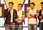 Sunil Shetty, Salman Khan, Aftab Shivdasani, Ritesh Deshmukh At CCL 2 Curtain Raiser